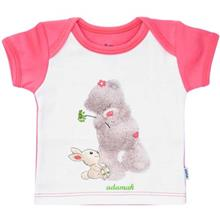 Adamak Woolly Bear Baby T Shirt With Short Sleeve