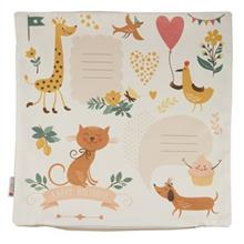 Yenilux Happy Holidays Cushion Cover
