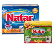 Natar 2 pieces Detergents For Dishwashers Bundle Code 10