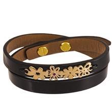 دستبند طلا 18 عیار تاج درسا مدل 127