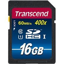 Transcend Premium UHS-I U1 Class 10 60MBps 400X SDHC - 16GB