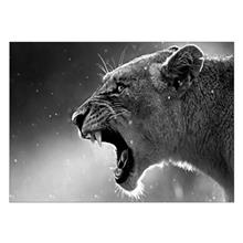 تابلوی ونسونی طرح The Lion Rave سایز 30x40