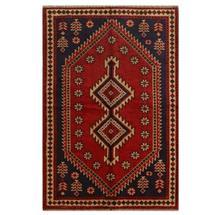 فرش دستبافت قديمي سه و نيم متري کد 149225