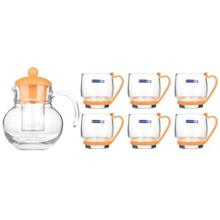Luminarc Baloon Melon Tea Set 7 Pcs