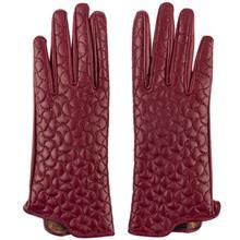 دستکش زنانه چرم مشهد مدل Crimson R170