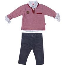 ست لباس پسرانه پوپولين مدل 7012