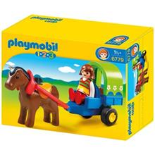ساختني پلي موبيل مدل Pony Wagon 6779
