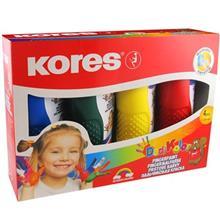 رنگ انگشتي 5 رنگ کورس مدل Dedi Kolor - حجم 150ميلي ليتر