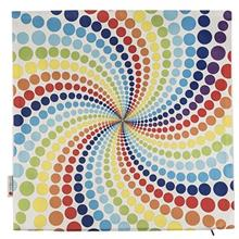Yenilux Colored Circle Cushion Cover