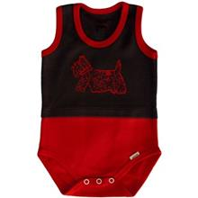 Adamak Dog Under Button Singlet