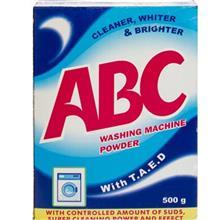 ABC With T.A.E.D Washing Machine Powder 500g