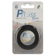 نخ دندان پی فلوس مدل Black Tape Fluoide