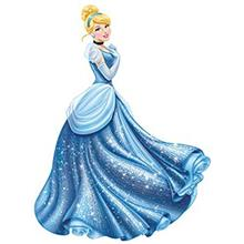 استیکر رومیت مدل Disney Princess Cinderella Glamour Peel And Stick Giant Wall Decal