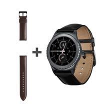 ساعت هوشمند سامسونگ Gear S2 Classic به همراه بند چرمی سامسونگ