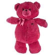 عروسک پاليز مدل Bear Pink Bow ارتفاع 43 سانتي متر