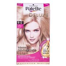 کیت رنگ مو پلت سری Deluxe مدل Light Blond شماره 0-9