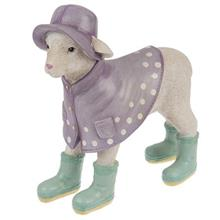 Italdecor Raincoat Lamb 27121 Statue