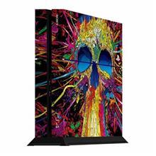 برچسب عمودی پلی استیشن 4 ونسونی طرح Rainbow Skull