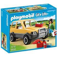 ساختني پلي موبيل مدل  Vet With Car 5532