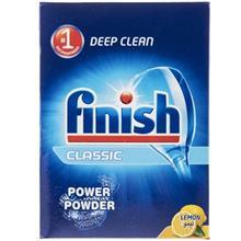 Finish Classic Lemon Dishwasher Powder 1Kg