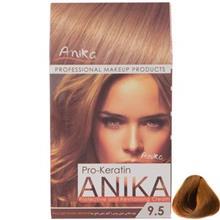 کيت رنگ مو آنيکا سري Pro Keratin مدل Golden شماره 9.5