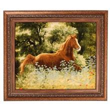 تابلوفرش گالری مثالین طرح اسب کد 25034
