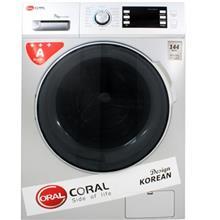 ماشین لباسشویی کورال مدل WF14704 با ظرفیت 7 کیلوگرم
