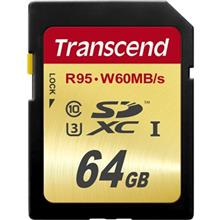 Transcend Ultimate UHS-I U3 Class 10 95MBps 633X SDXC - 64GB