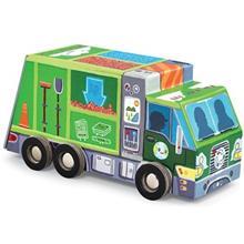 پازل 48 تکه کروکوديل کريک مدل Recycling Truck