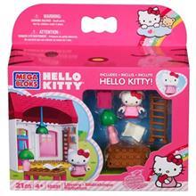 ساختني مگا بلاکس مدل Hello Kitty Library کد 10891