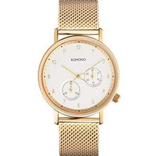 Komono Walther Gold Mesh Watch