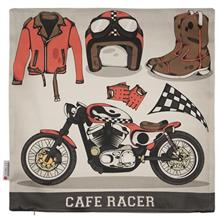 Yenilux Cafe Racer Cushion Cover