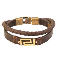 دستبند طلا 18 عيار کابوک مدل 175013 طرح ورساچه