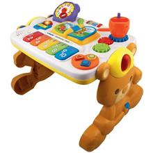 Vtech 2 In 1 Teddy Activity Table Educational Game