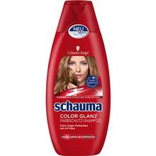 شامپو تثبيت کننده رنگ مو شوما مدل Color Shine حجم 400 ميلي ليتر