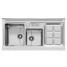 سینک ظرفشویی روکار اخوان کد 320 ( 120cm×60cm)