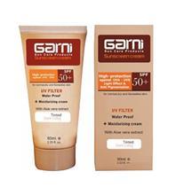 کرم ضد آفتاب رنگی پوست خشک و حساس گارنی