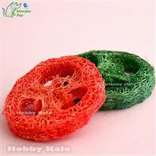 لیفهای تمیز کننده دندان سبز و قرمز | Loofah Teeth Cleaning Green & Red