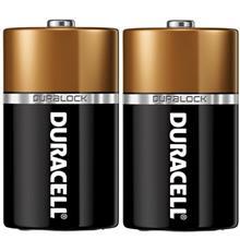 Duracell Duralock Alkaline C Battery Pack Of 2