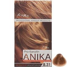 کيت رنگ مو آنيکا سري Pro Keratin مدل Beige شماره 8.31