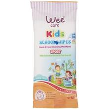 Wee Hand And Face Cleansing Wet Wipes 12pcs