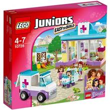 Lego Juniors Mias Vet Clinic Construction Set 10728