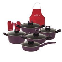 Bogatti Teflon Cookware Set 13 Pieces