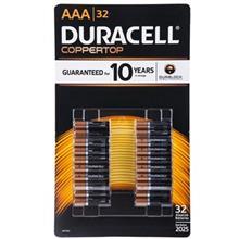 Duracell Duralock Alkaline AAA Battery Pack Of 32
