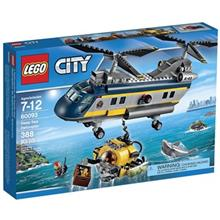 City Deep Sea Helicopter 60093 Lego