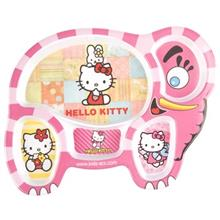 Blue Baby Hello Kitty Baby Divided Plate