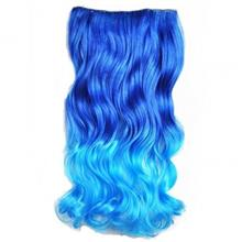 Abwin 20 Inch Curly Curl Wavy Clip in Hair Extensions