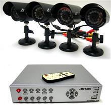 ASTAK CM-818DVR4V Surveillance DVR Kit