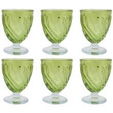لیوان شیشه ای گالری سیلیس مجموعه شش عددی
