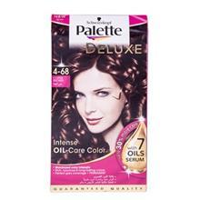 کيت رنگ مو پلت سري Deluxe مدل Coffee Brown شماره 68-4